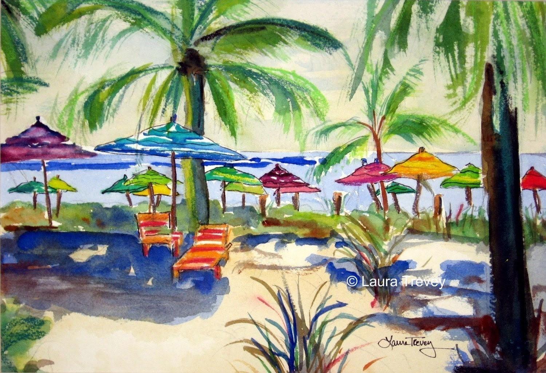 Giclee on Canvas, Caribbean Time