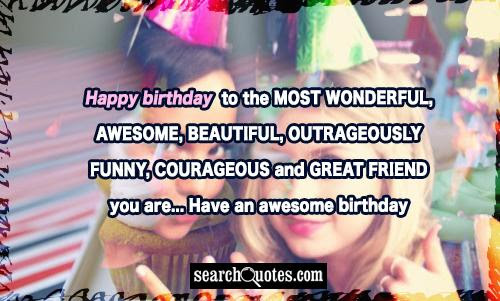 Happy Birthday To The Most Amazing Person Quotes Quotations