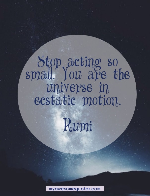 Rumi Quote About Self Worth Awesome Quotes About Life