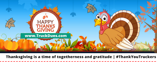 Why we are thankful for truck drivers this Thanksgiving