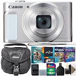 Canon PowerShot SX620 HS Digital Camera (White) with Kids Fun Bundle