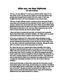 How to write a short story analysis essay