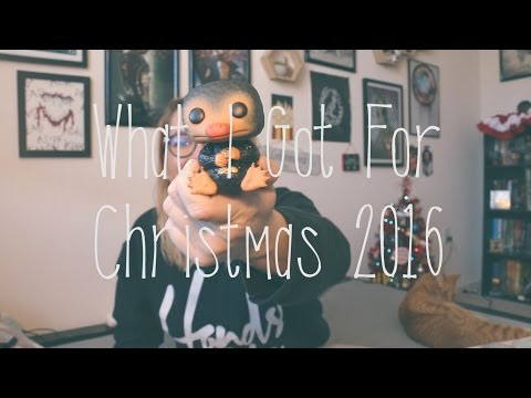 What I Got for Christmas 2016 -Vlog