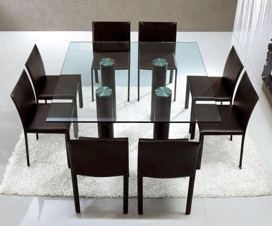 Mobili lavelli tavoli da pranzo in vetro - Mobili in vetro ikea ...