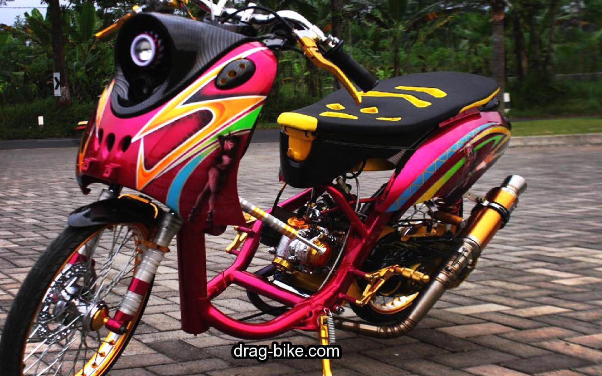 99 Gambar Motor Drag Bike Thailand Terkeren Kewak Motor