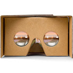 Google Cardboard - Brown