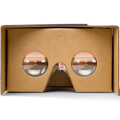Google Cardboard - Brown