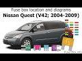 Download 07 Nissan Quest Fuse Diagram Images