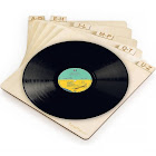 TunePhonik Vertical Laser Cut Wooden Record Dividers to Organize Vinyl LPS Up to