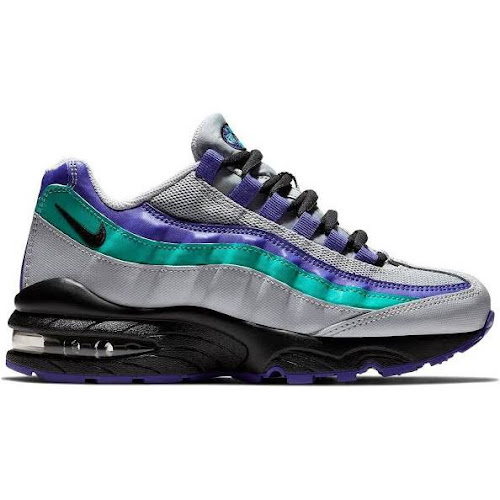 a34bc9d885 Nike Air Max 95 - Boys Grade School Shoes Wolf Grey Size 5 - Google ...