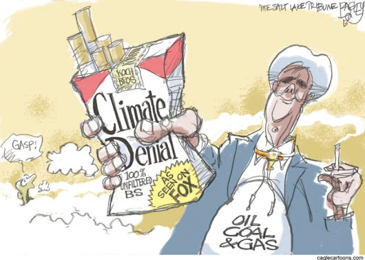 Who's Driving Climate Denial? Big Companies and Conservative Media - NationofChange | Progressive Change Through Positive Action