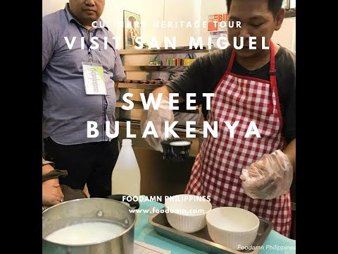Visit San Miguel: Sweet Bulakenya Food Demo