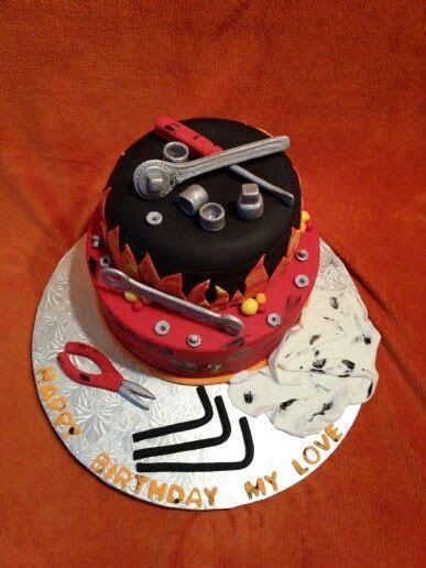 Mechanic inspiration cake!   My inspiration!   Pinterest