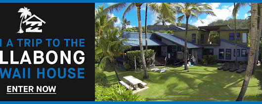 Win A Trip To The Billabong Hawaii House!