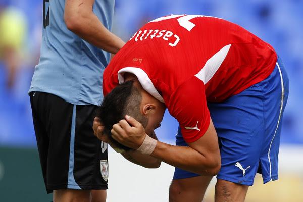 URUGUAY 1 - CHILE 0