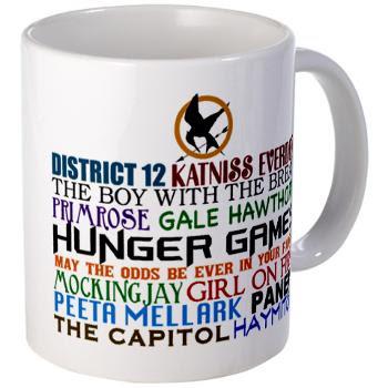 Resultado de imagen de mug the hunger games