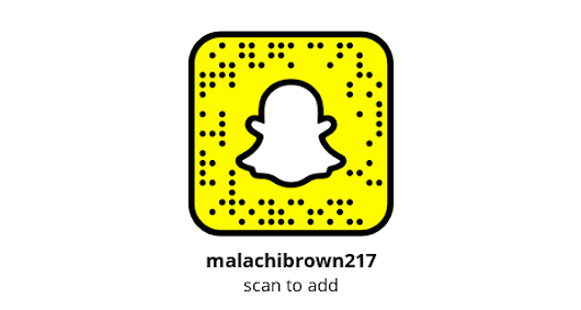 Add me on Snapchat! Username: malachibrown217