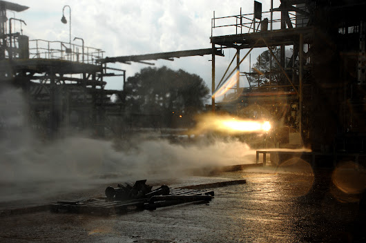 NASA Tests Limits of 3-D Printing with Powerful Rocket Engine Check