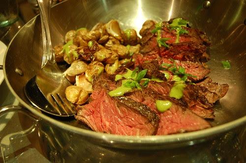 Marinated Hanger Steak