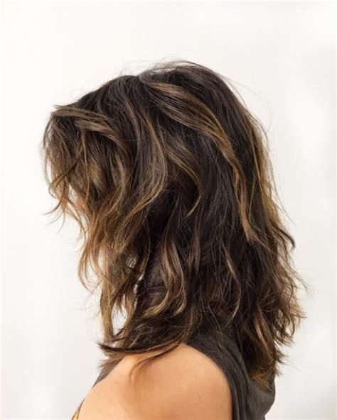 easy hairstyles  medium length thick hair byrdie uk