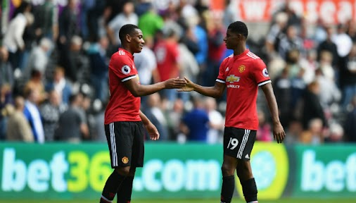 Marcus Rashford and Anthony Martial start for Manchester United in Champions League opener: Marcus Rashford...
