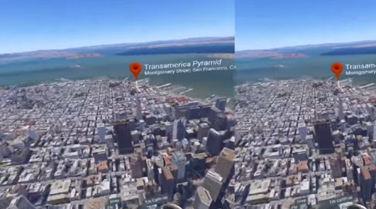 Google Earth in VR is so beautiful that it made me cry