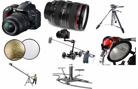 A Complete Information about the List of Equipments that you need to make a Film (Filmmaker Kit)