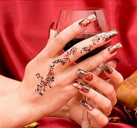 Bridal Nail Art 2012   Fashion Fobia