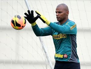 Jefferson treino Botafogo  (Foto: Satiro Sodre / SSPress)