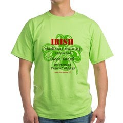 Irish BS Men's Green T-Shirt