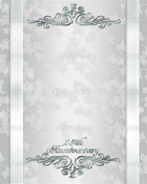 anniversary invitations : Free 25th wedding anniversary