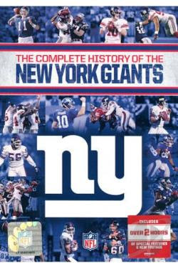NFL History of the New York Giants DVD Movie