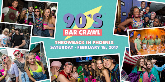 90's Bar Crawl - Phoenix