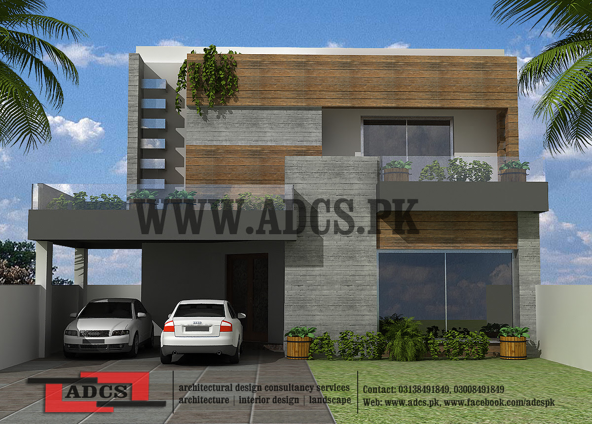 Architectural Design Of 10 Marla House