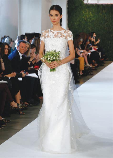 oscar de la renta vintage mermaidwedding gown