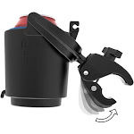 Ram Mounts Tough-Claw Mount w/Self-Leveling Cup Holder
