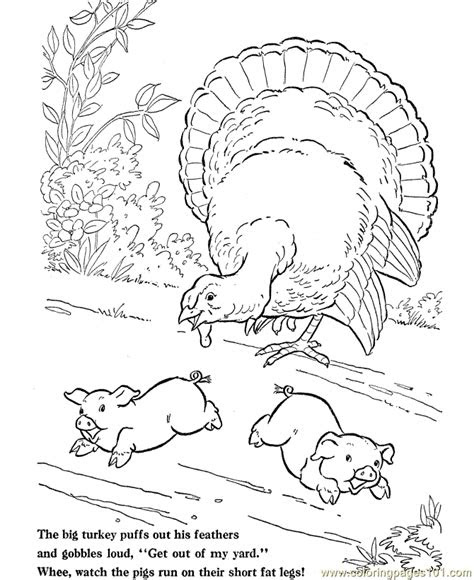 farm animals coloring page  chicks hens