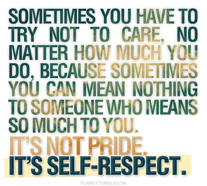 Self Respect Pictures Photos And Images For Facebook Tumblr