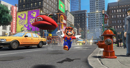 Nintendo says Mario isn't a plumber any more