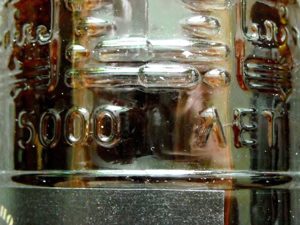 """Надпись на коньяке """"Каспий"""" / Фото из России"""