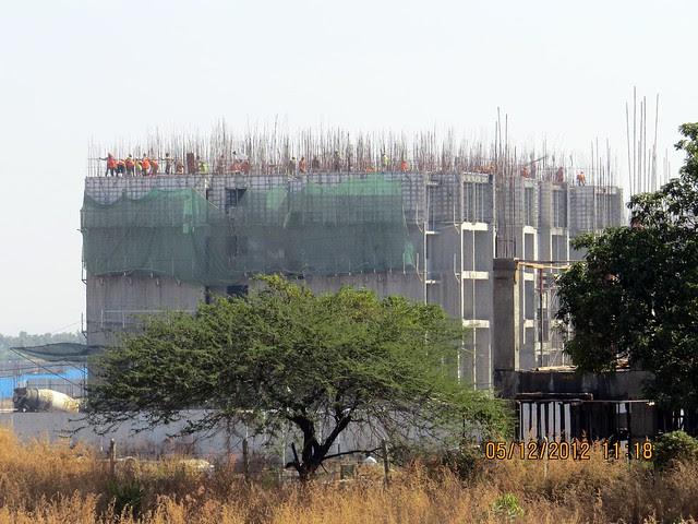 6th Avenue from 6 Lane Concrete Road - Development in the 1st Year - Kolte-Patil Life Republic Marunji, Hinjewadi - Kasarsai Road, Pune 411057