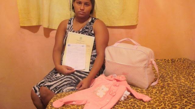 Gestante não foi atendida no Hospital Pedro II, em Santa Cruz, e bebê morreu logo após nascer.