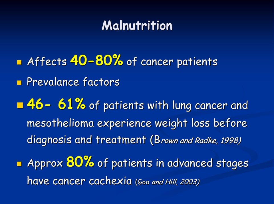 Oral Nutrition Support in Cancer Does it help?  PDF