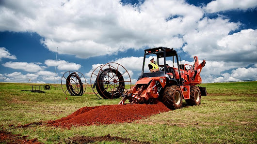 Trencher: Designed to dig trenches with power and efficiency - Truck & Trailer Blog
