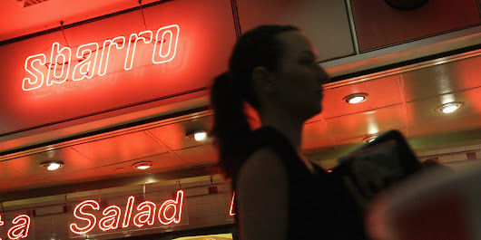The Mall Is Dead, And It's Taking Sbarro With It