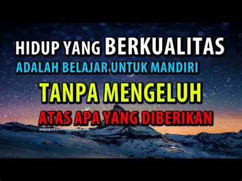 wallpaper motivasi  kata mutiara bijak youtube