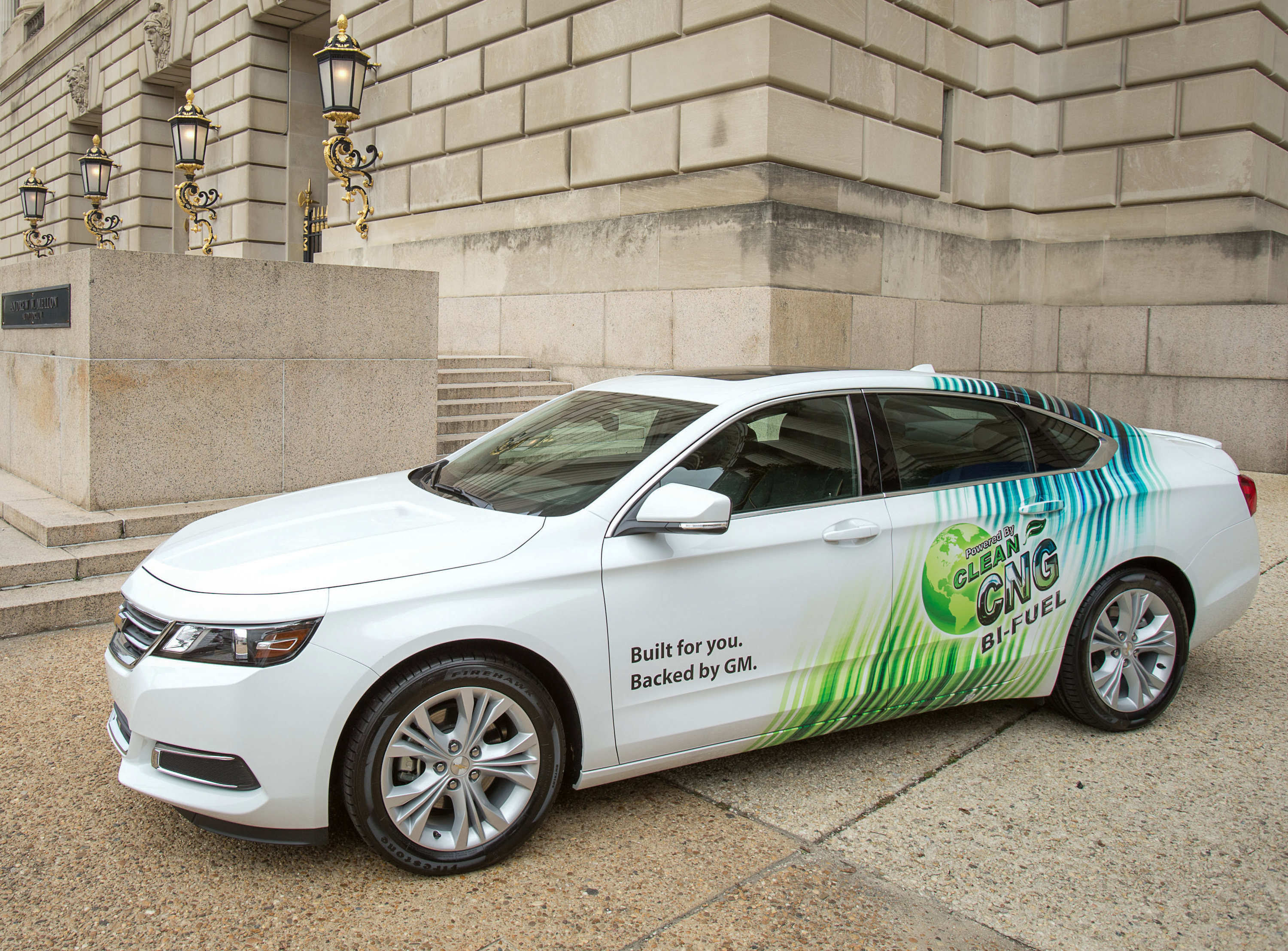 2015 chevrolet impala to be offered as bifuel model with