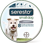 Seresto 81857944 Adjustable Small Dog Flea and Tick Collar
