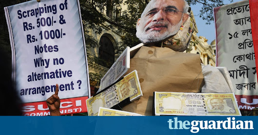Why the corrupt rich will welcome Modi's 'surgical strike on corruption' | Jayati Ghosh | Opinion | The Guardian