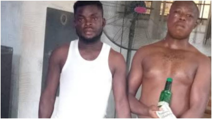 Two Arrested In Ogun For Scamming Nigerians With Dollar-Washing Fraud